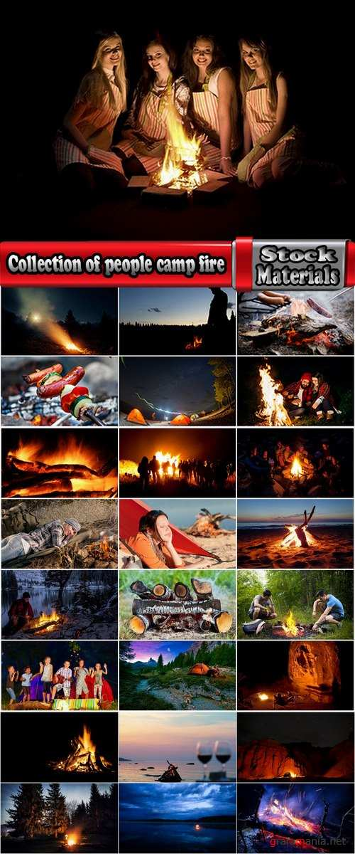 Collection of people man woman camp fire travel vacation vacations nature landscape 25 HQ Jpeg
