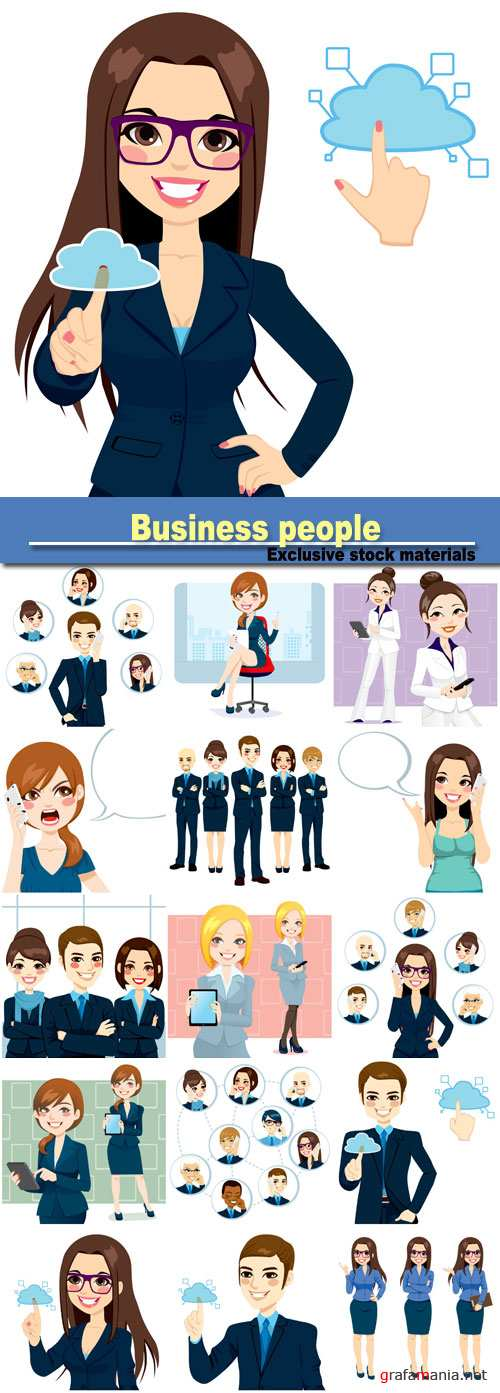 Business people, office workers