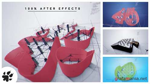 Architect Logo Reveal v2 - Project for After Effects (Videohive)
