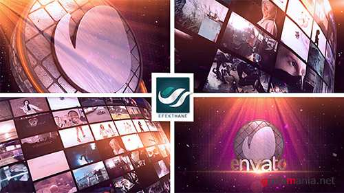 Video Wall Logo - Project for After Effects (Videohive)