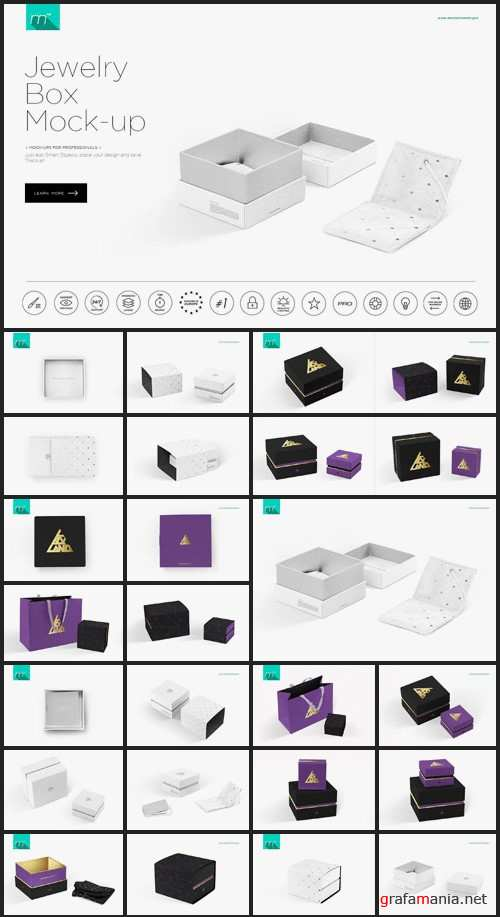 Jewelry Box Mock-up - 522169