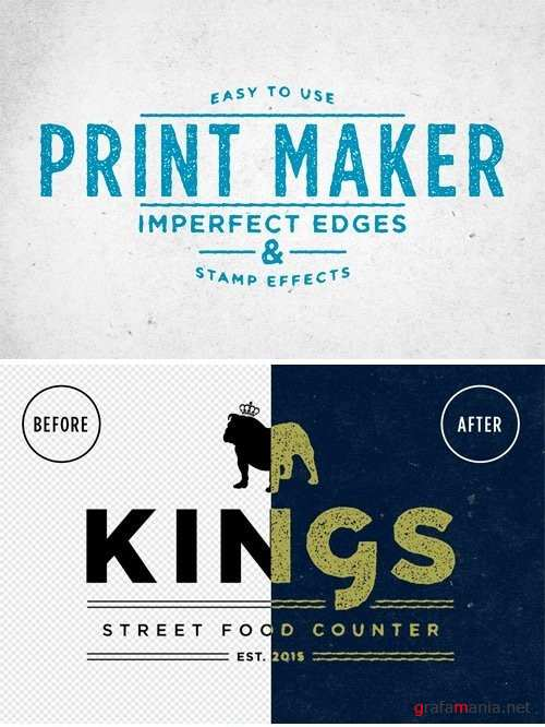 Print Maker Stamp Effects - 220441