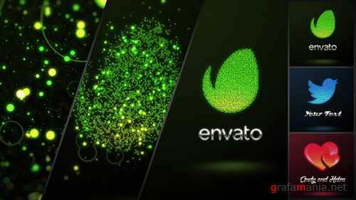 Glowing Dots Logo - Project for After Effects (Videohive)