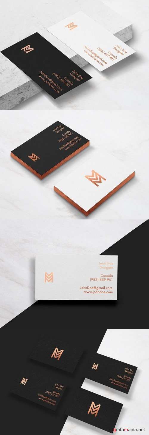 Business Cards Mockup vol 2 - 677020