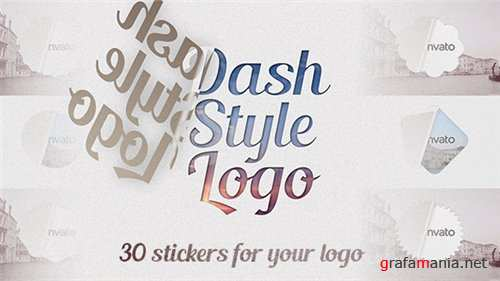 Dash Style Logo - After Effects Project (Videohive)