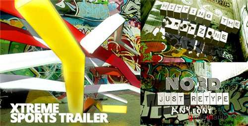 Xtreme Sports Graffiti Trailer - After Effects Project (Videohive)
