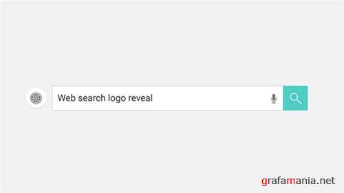 Web Search Logo Reveal - After Effects Project (Videohive)