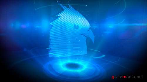 Logo Opener Holographic - Project for After Effects (Videohive)