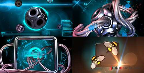 Sci-Fi Hi Tech Micro Electric Wire - Project for After Effects (Videohive)