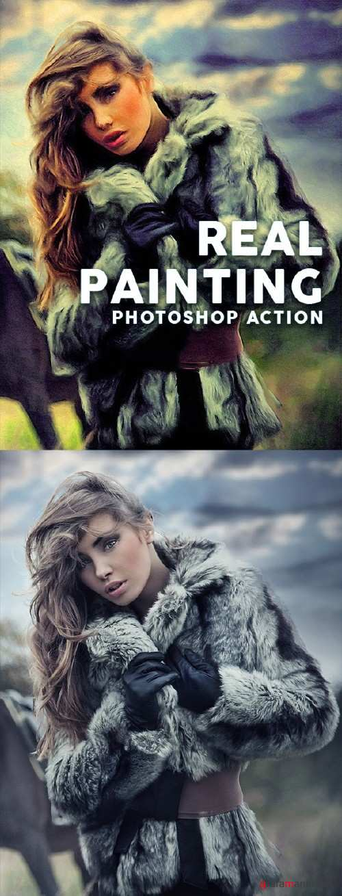 Real Painting Photoshop Action  - 16132938
