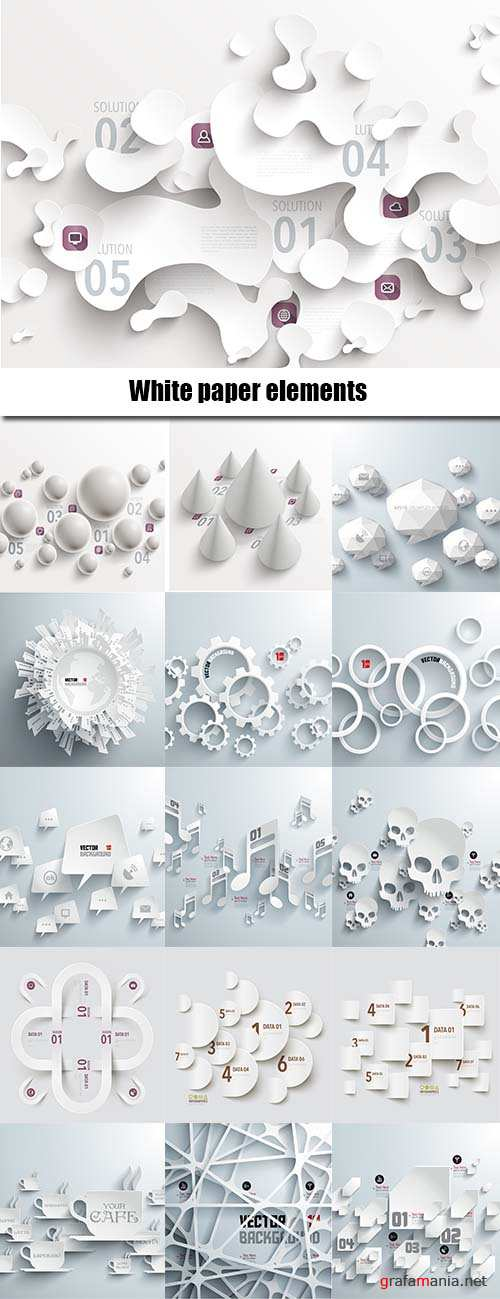 White paper elements