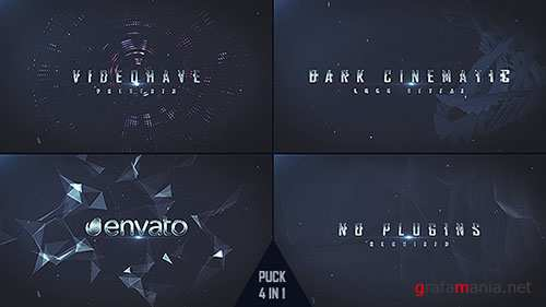 Dark Logo Reveal 15753344 - Project for After Effects (Videohive)