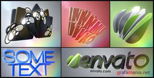 3D Logo Layers - After Effects Project (Videohive)
