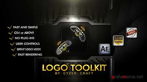 Descriptive Logo Toolkit - Hi-tech Packshot - Project for After Effects (Videohive)