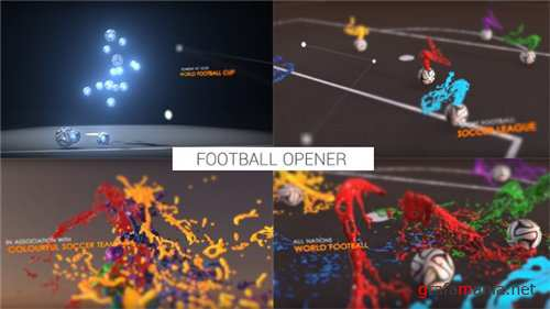 Colourful Football Opener - After Effects Project (Videohive)