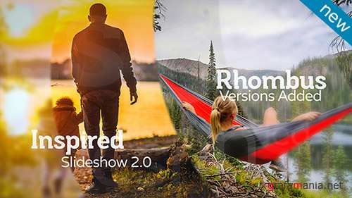 Inspired Slideshow 2.0 - Project for After Effects (Videohive)