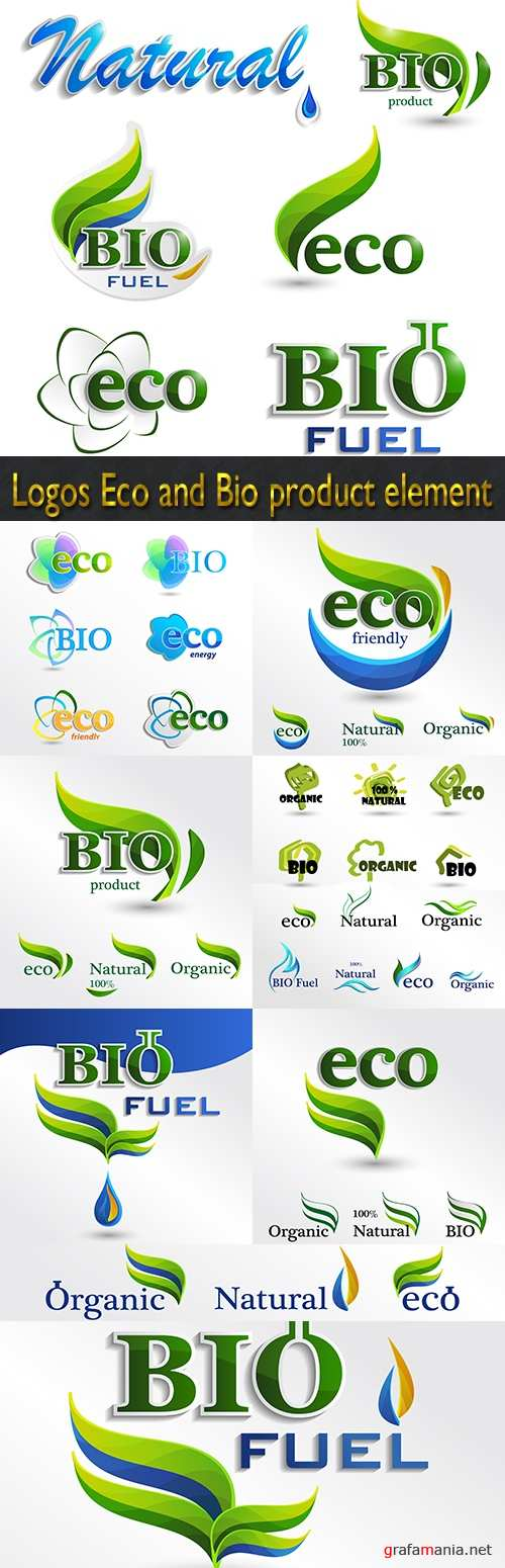 Logos Eco and Bio product element