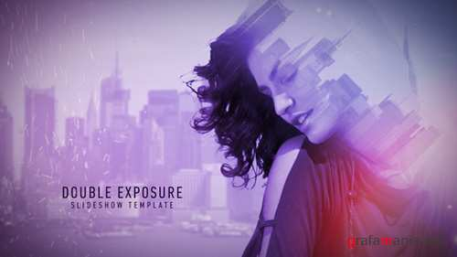 Double Exposure Slideshow - Project for After Effects (pond5)