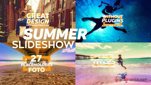 Summer Slideshow 16093863 - Project for After Effects (Videohive)
