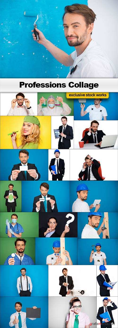 Professions Collage