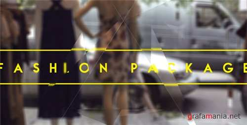 Fashion Package - After Effects Project (Videohive)