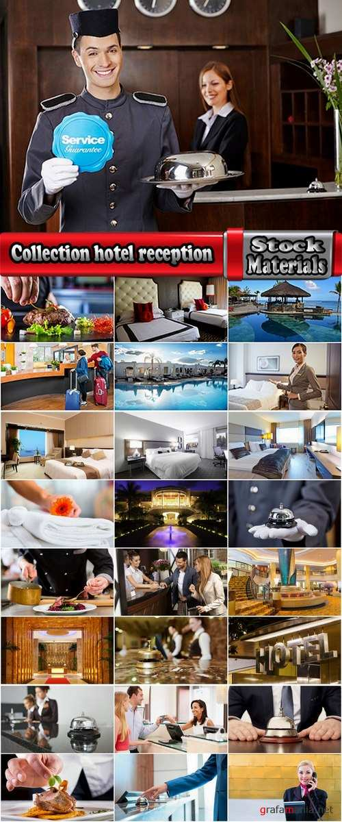 Collection hotel reception room service maid a butler 25 HQ Jpeg