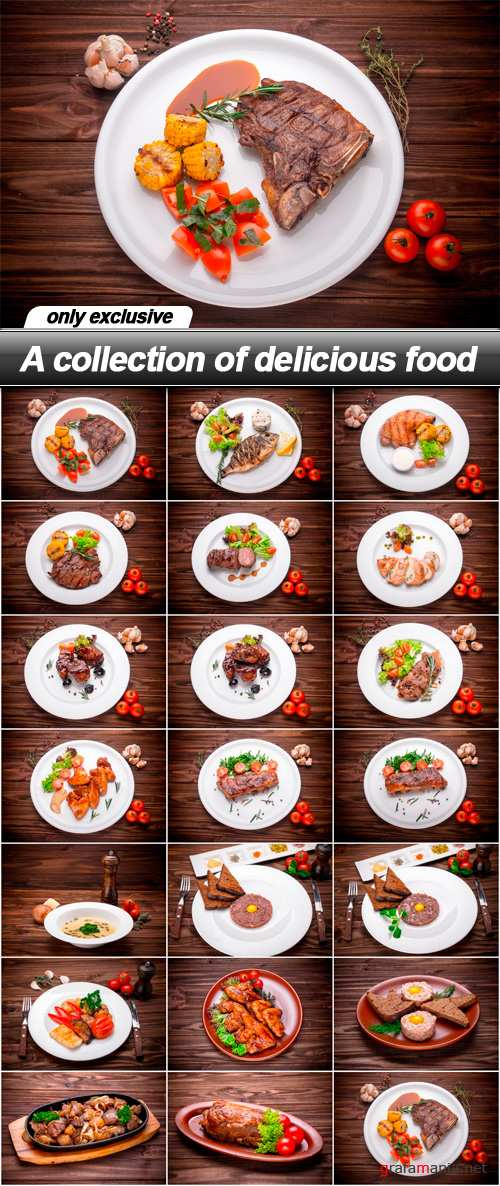 A collection of delicious food