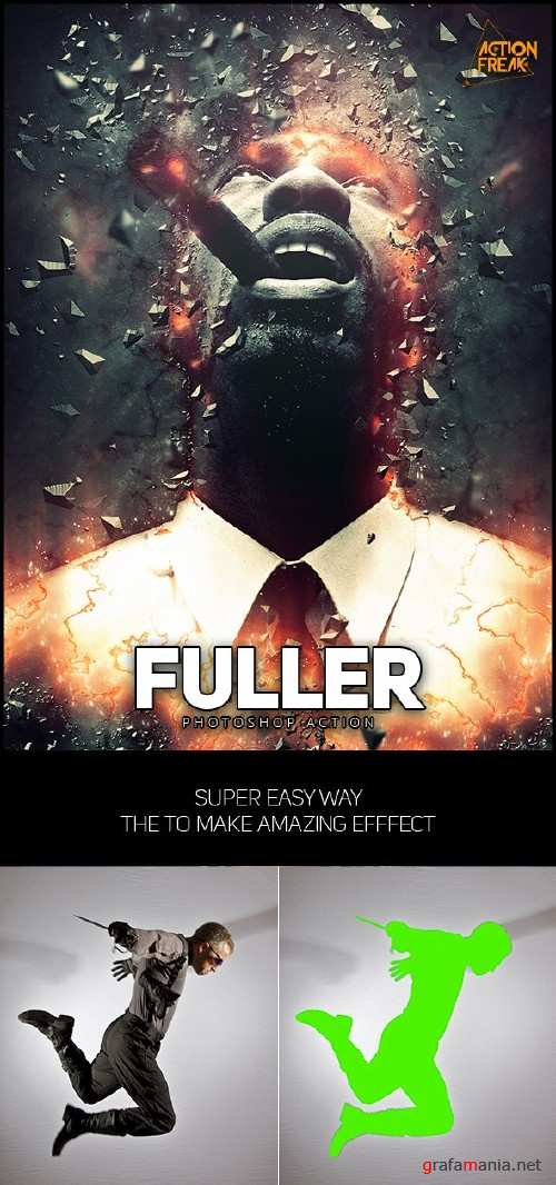 Fuller Photoshop Action - 16570307
