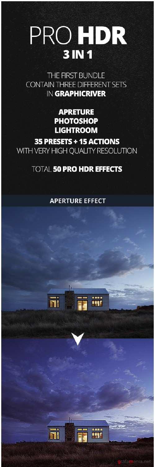 50 Pro HDR Bundle Effects 3 IN 1 - 11208993