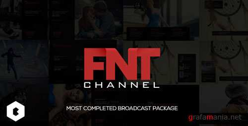 FNT Broadcast Package - Project for After Effects (Videohive)