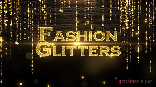 Fashion Glitters - Project for After Effects (Videohive)