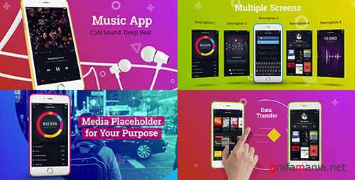Colorful App Promo - Project for After Effects (Videohive)