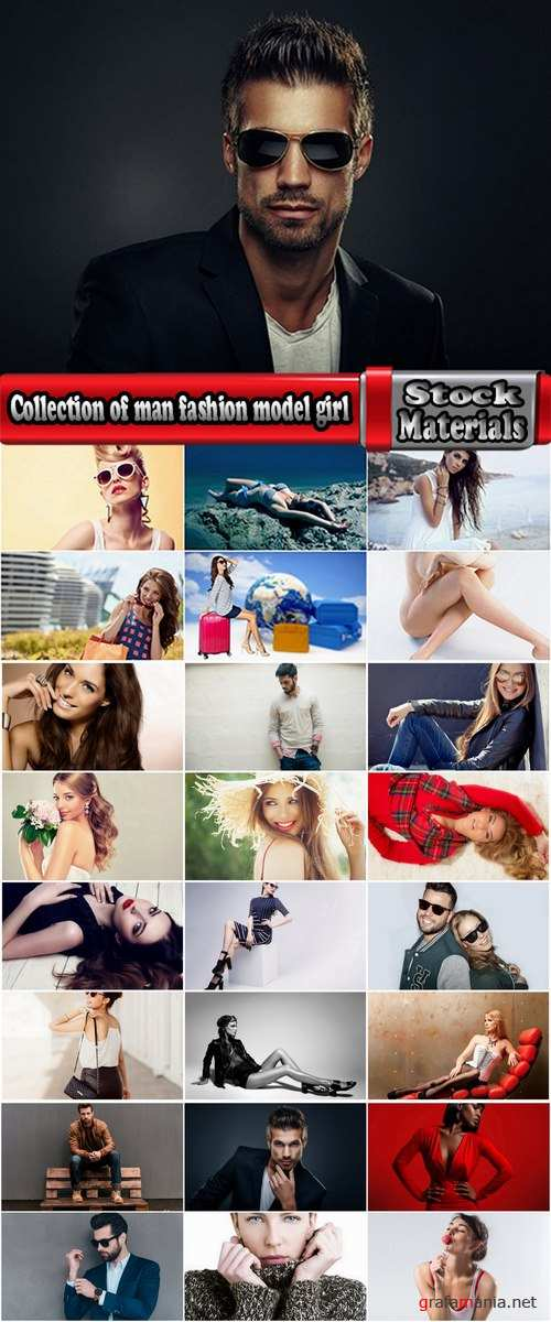 Collection of man fashion model girl woman Cover 25 HQ Jpeg