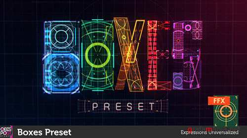 Boxes Preset - After Effects Presets (Videohive)