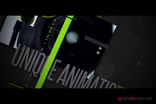MotionVFX - Technical Presentation Template for Adobe After Effects