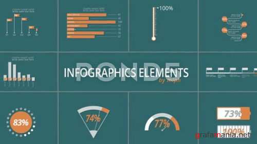 Infographics Elements - After Effects Template