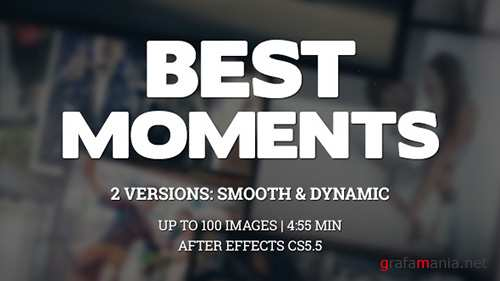 Best Moments Gallery - Project for After Effects (Videohive)