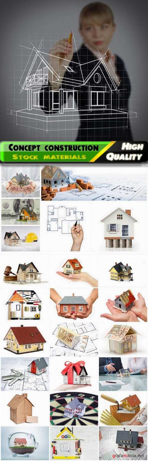 Concept construction and trade in real estate - 25 HQ Jpg