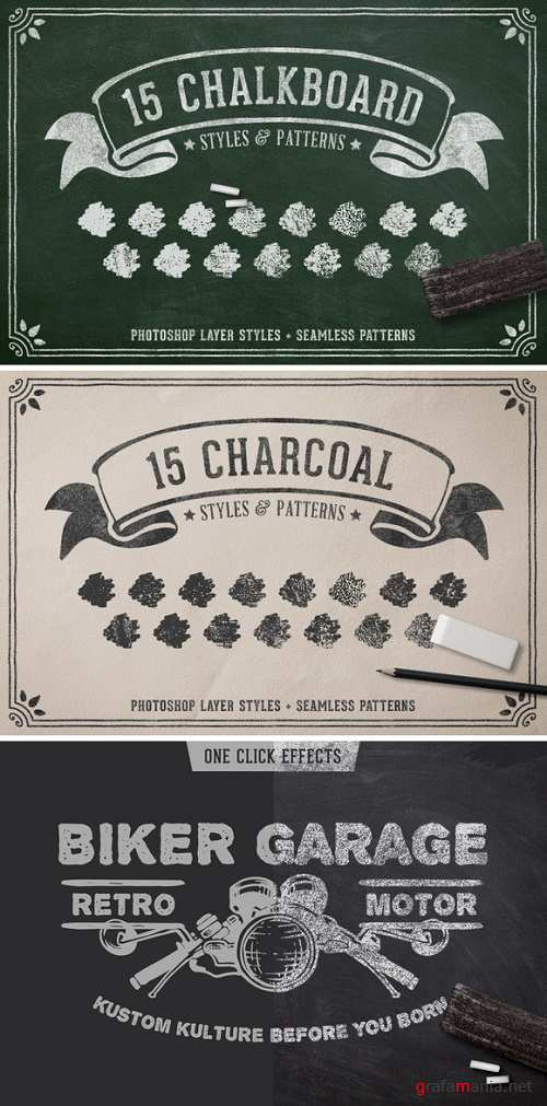 Chalk & Charcoal Effects Volume 1 - 790036