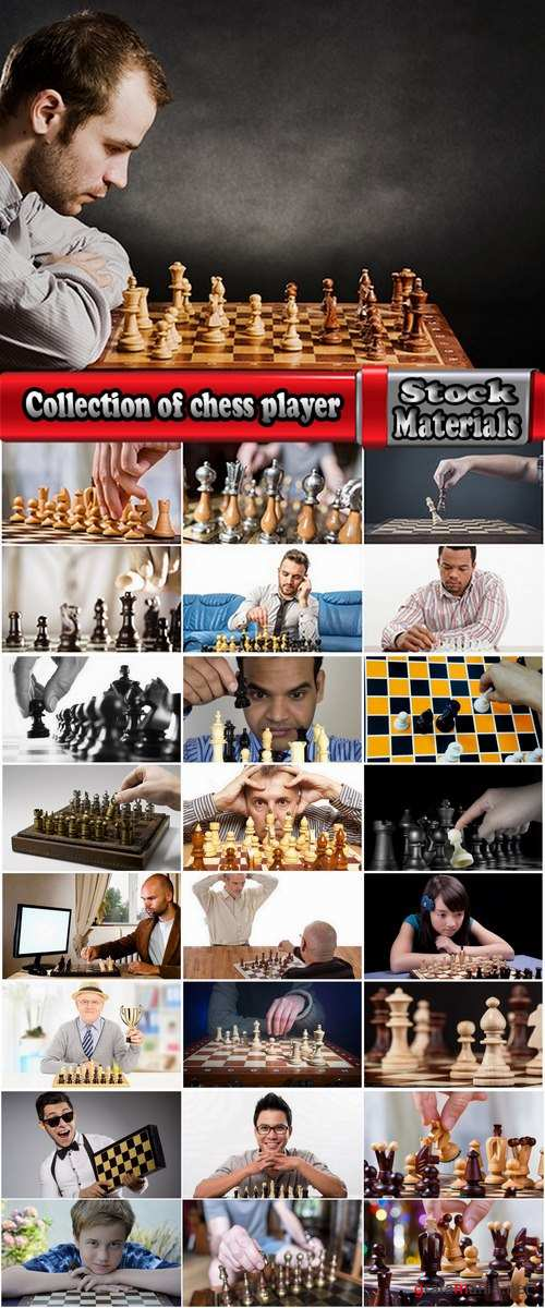Collection of chess player grandmaster chess party figure 25 HQ Jpeg