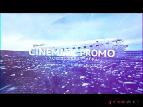 After Effects Cinematic Promo - Motion Array