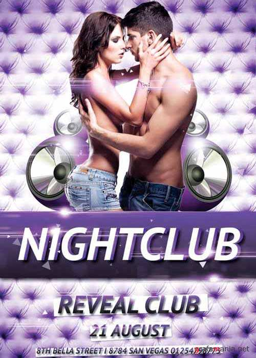 Nightclub Party V5 Flyer Template