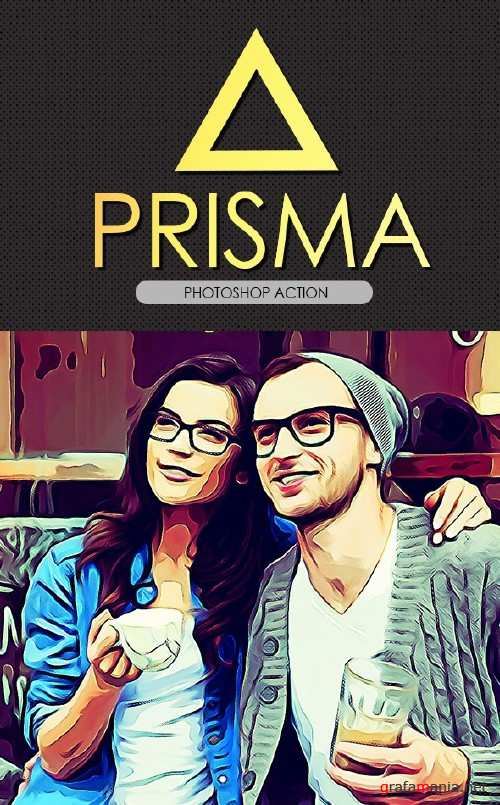 Prisma Effect PS Action - 17355813