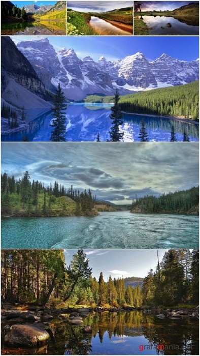 Wonderful scenery of rivers (Pack 36)