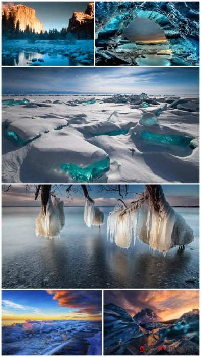 Ice landscapes