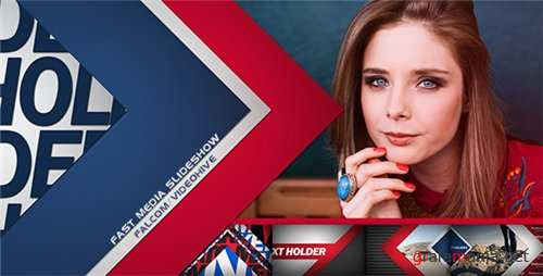 Fast Media Slideshow - After Effects Project (Videohive)