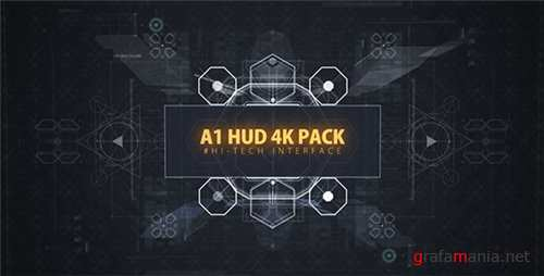 A1 HUD 4K PACK - After Effects Project (Videohive)