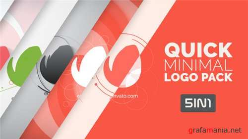 Quick Minimal Logo Pack - After Effects Project (Videohive)