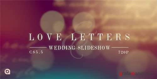 Love Letters Slideshow - After Effects Project (Videohive)