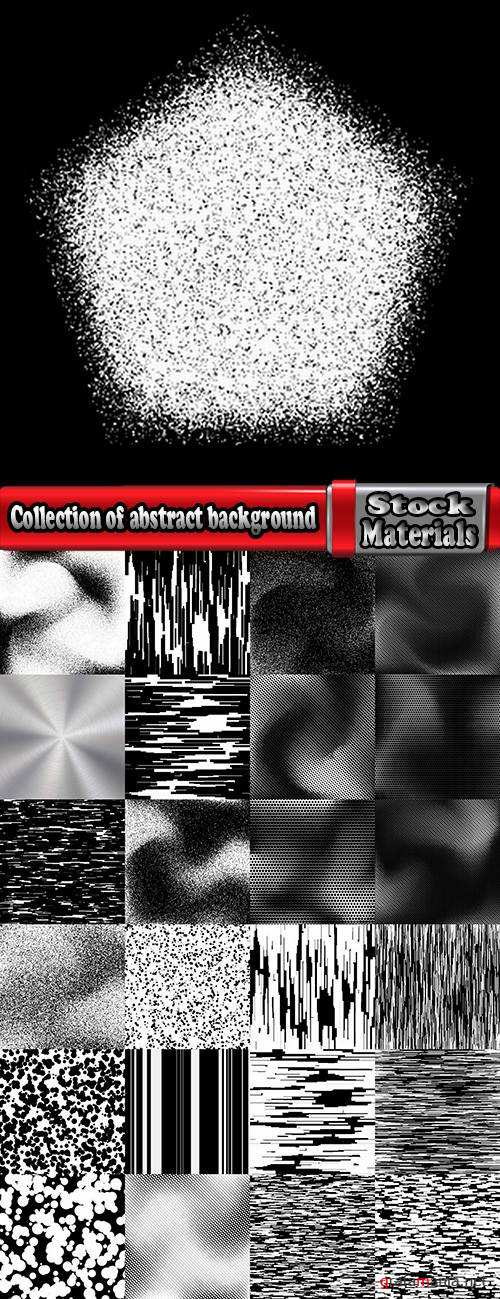 Collection of abstract background is a pattern blot paint spiral metal line stain 25 EPS